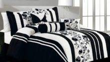 White Black Bedding Sets Decorate House