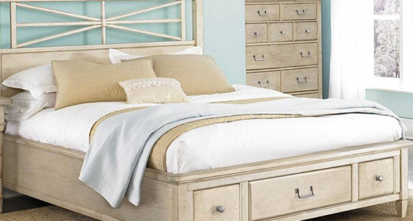 White Country Bedroom Furniture Platform