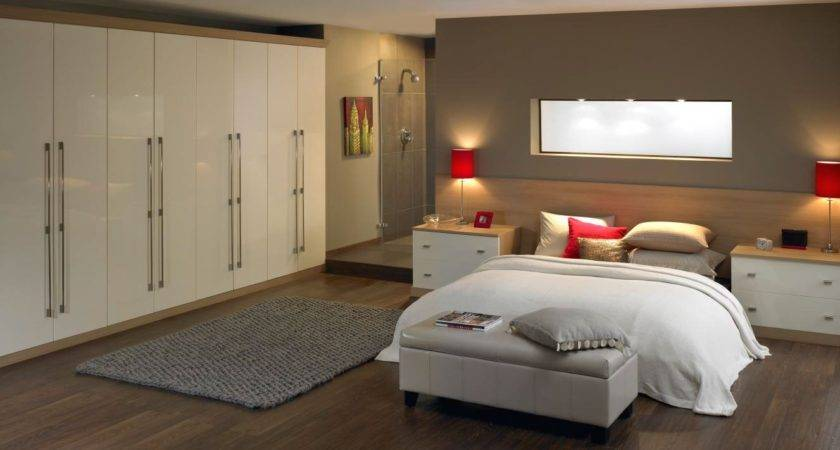 White Fitted Bedroom Furniture Leeds Small Storage