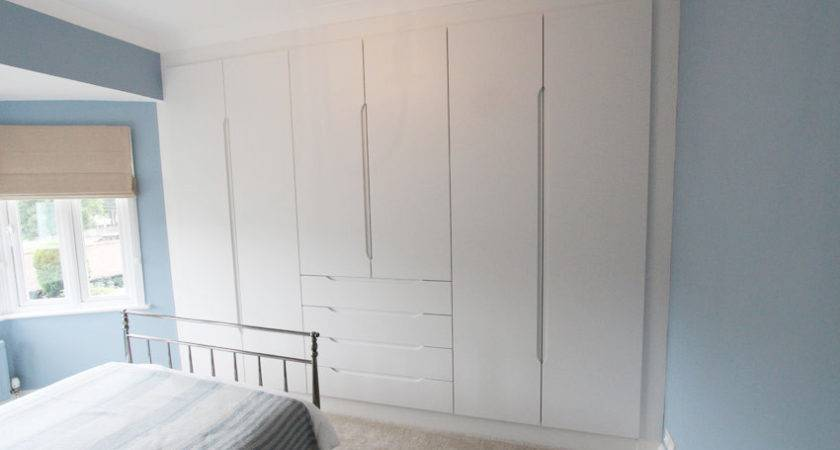 White Fitted Bedroom Furniture Verona