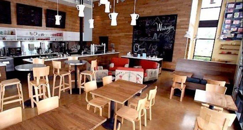 White Glass Pendant Lamps Enticing Coffee Shop