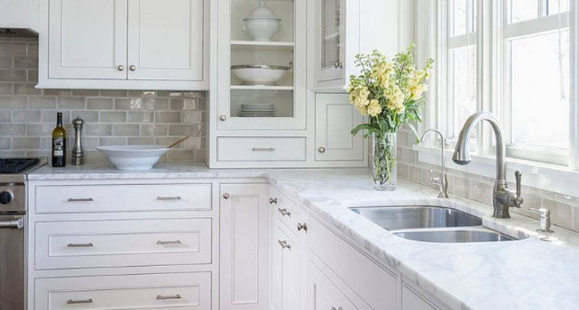 White Kitchen Inset Cabinets Home Bunch Interior