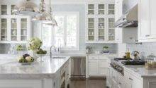 White Kitchen Inspiration Amazing Design Less