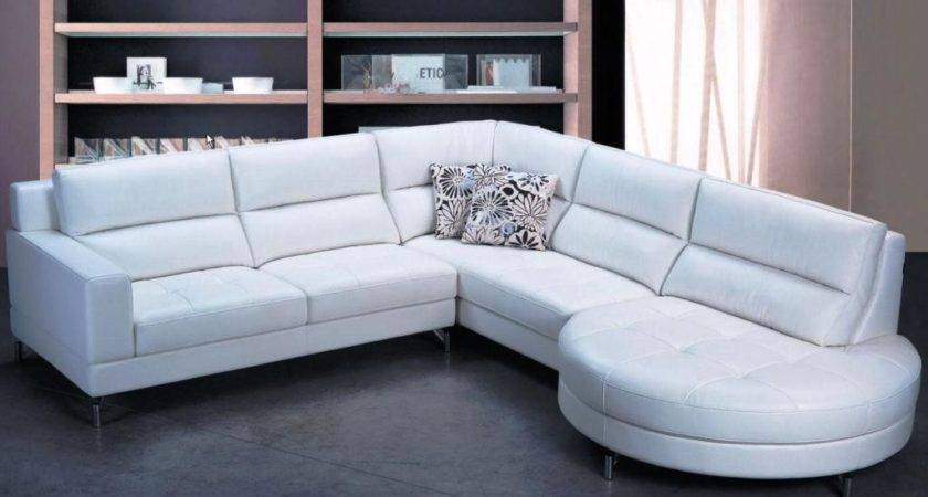 White Leather Couch Decorating Ideas Home Design