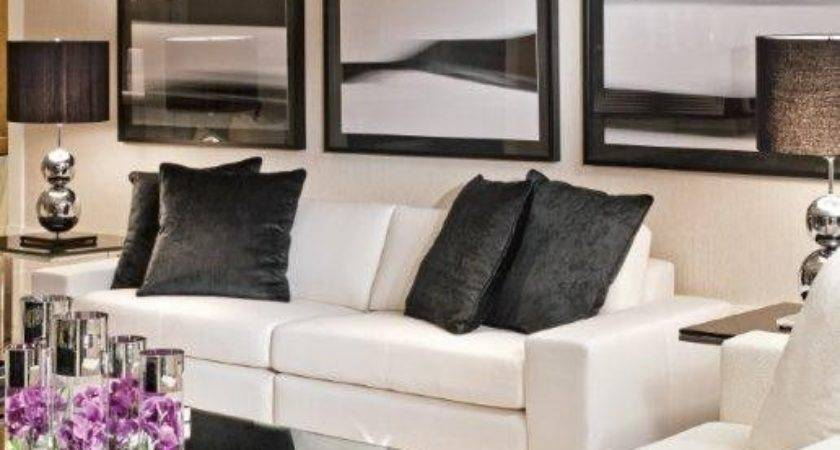 White Leather Couch Decorating Ideas Interior Design