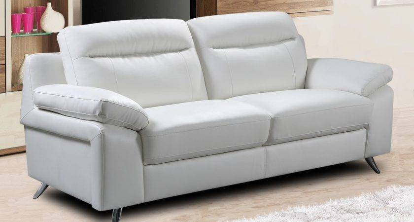 White Leather Sofa Decorating Ideas Tips More