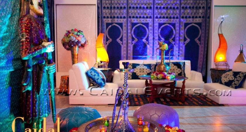 White Moroccan Themed Party Berber