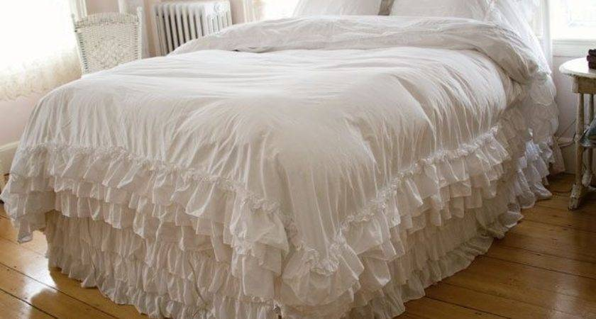 White Shabby Chic Bedding Vintage Homefurniture