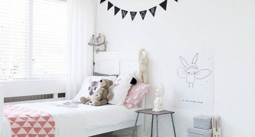 White Simple Kids Room Ideas Home Design Interior