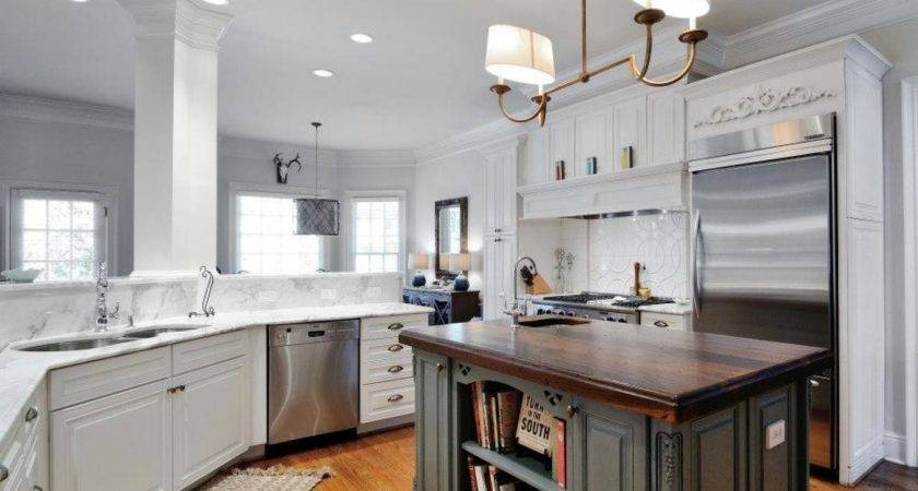 White Transitional Kitchen Artisan Group Hgtv