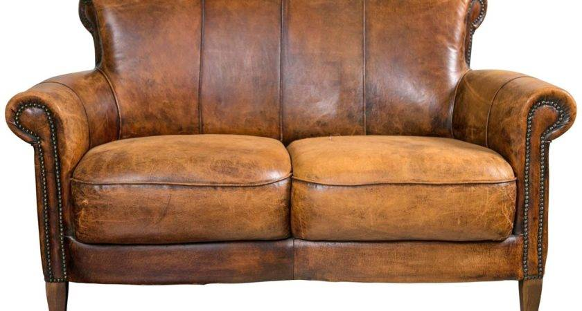 Whoruleswhere Sofa Bed Distressed Leather