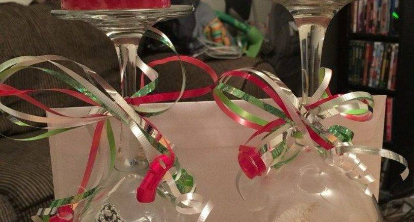 Wine Glass Snow Globes Craft Projects Every Fan
