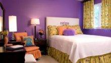 Wonderful Purple Bedroom Walls Paint Home Design Ideas