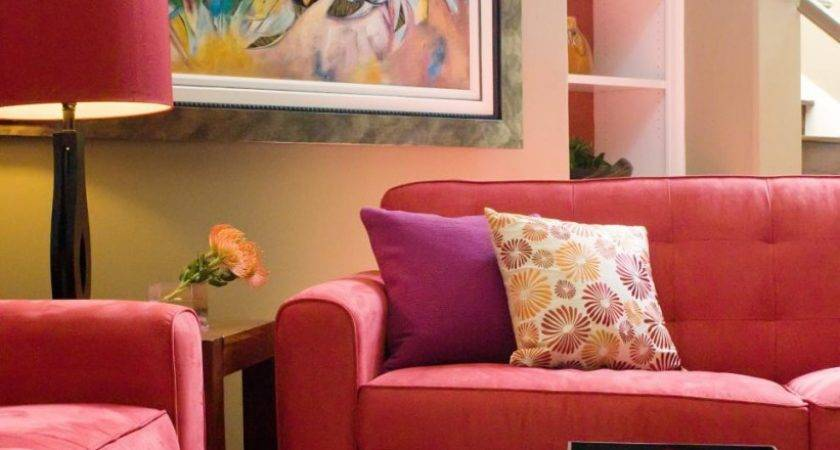 Wonderful Red Yellow Living Room Decorating Ideas