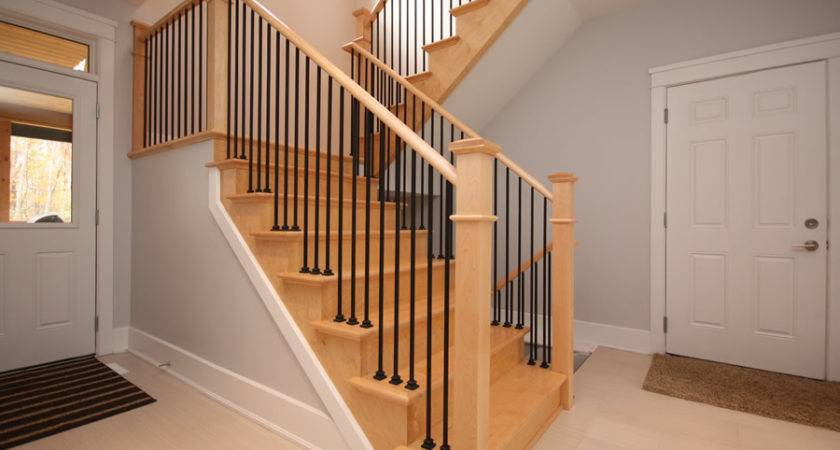 Wood Stair Railing Ideas Home Decorations Insight
