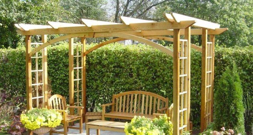 Wooden Craftsman Japanese Pergola Designs Beautiful