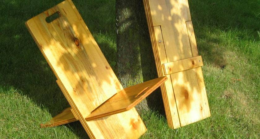 Wooden Folding Camp Chair Plans Baltic Birch Plywood