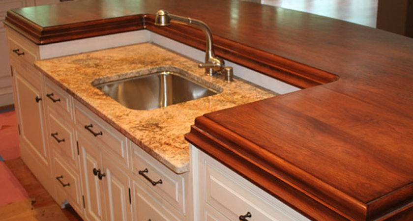 Wooden Kitchen Countertop Ideas Kitchentoday