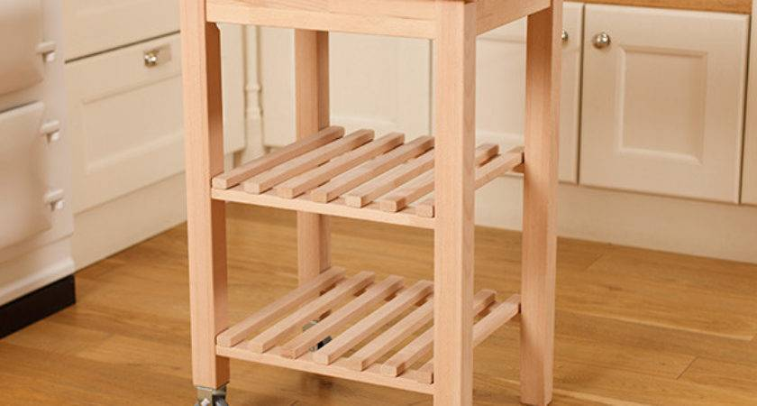 Wooden Kitchen Trolleys Now Ideal Companion