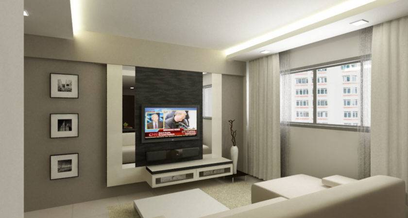 Woodland Room Hdb Renovation Behome Design Concept