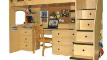 Woodwork Loft Bunk Bed Desk Plans Pdf
