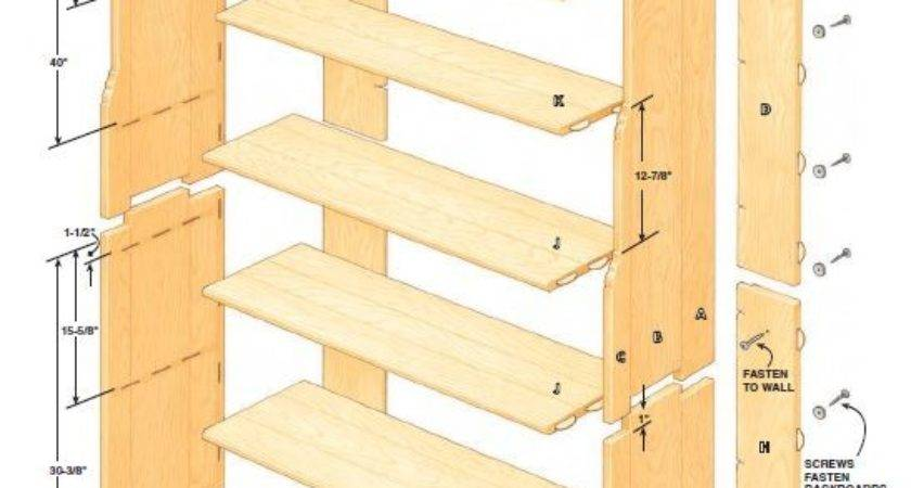 Woodworking Plans Corner Bookcase Quick Projects