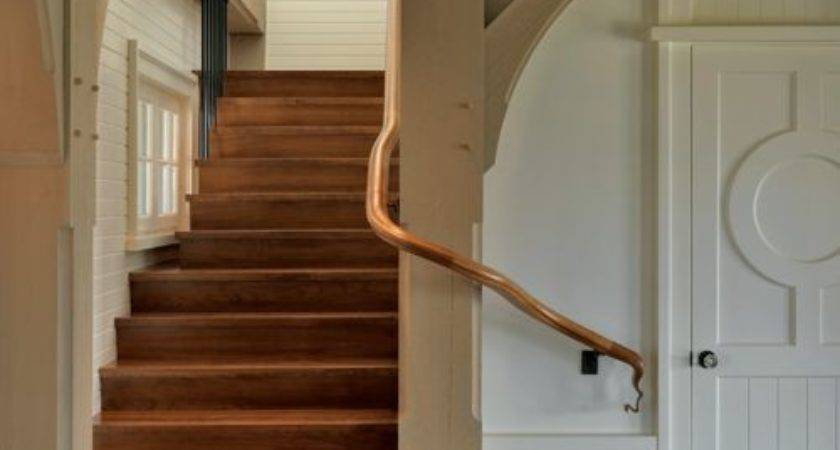 Wrap Around Stairs Home Design Ideas Remodel