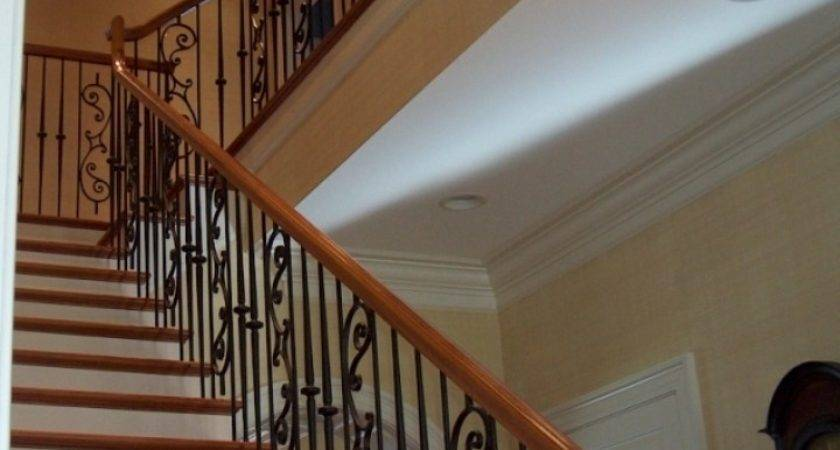 Wrought Iron Stair Railing Staircase
