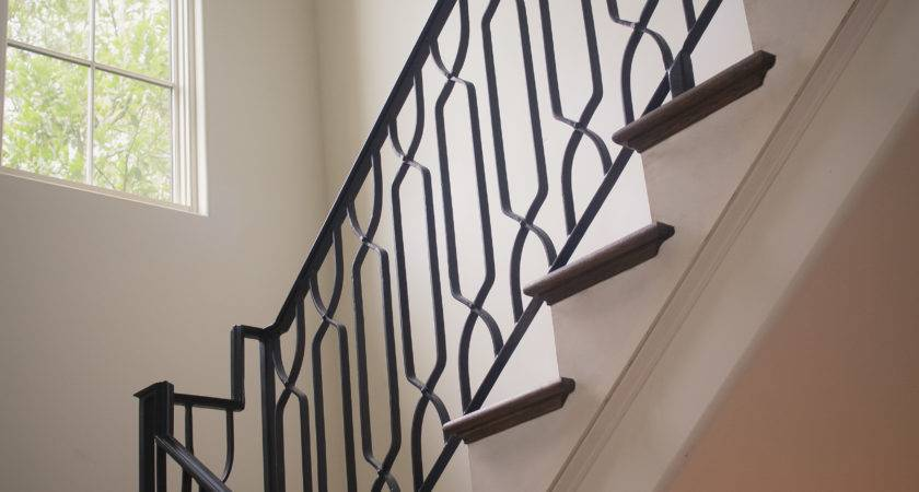 Wrought Iron Stair Railings Process Design