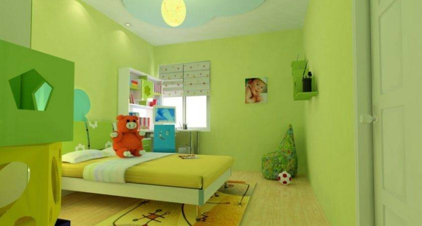 Yellow Bookcase Simple Bedroom Ceiling Designs