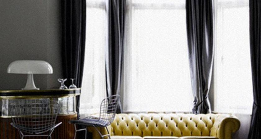 Yellow Gray Curtains Quotes