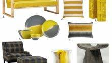 Yellow Gray Top Furniture Accessory Picks Fall