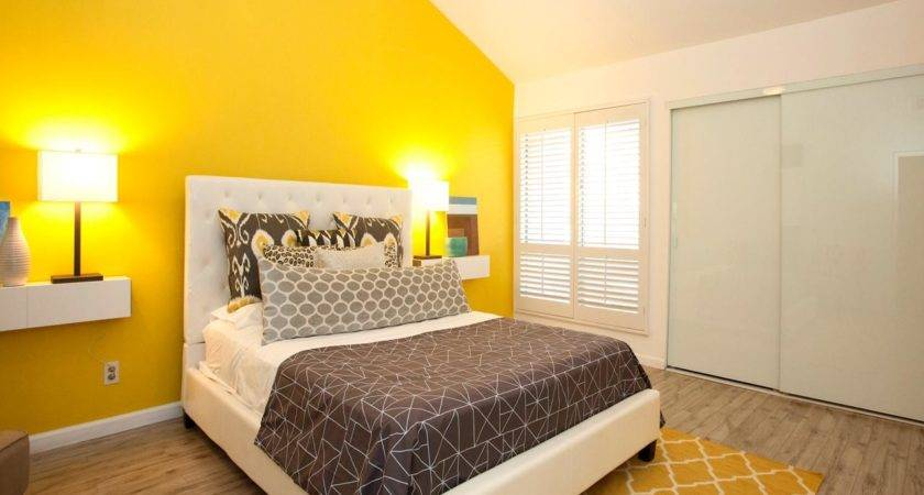 Yellow Master Bedroom Photos Hgtv