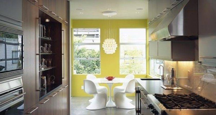 Yellow Painted Kitchen Designs Useful Creative Advice