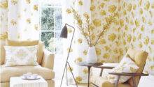 Yellow Pastel Living Room Design