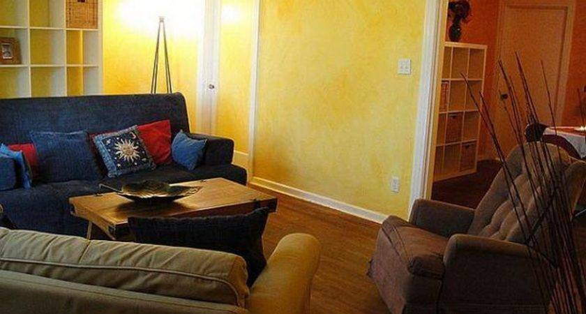 Yellow Red Living Room Color Schemes Furniture Home