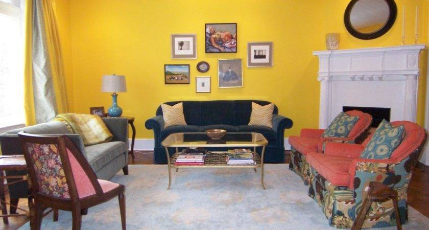 Yellow Red Living Room Ideas Cabinet Hardware