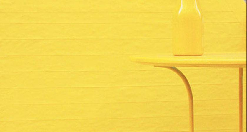 Yellow Wall Art Furniture