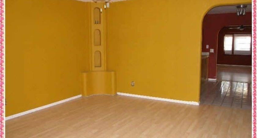 Yellow Wall Paint Bedroom Dining