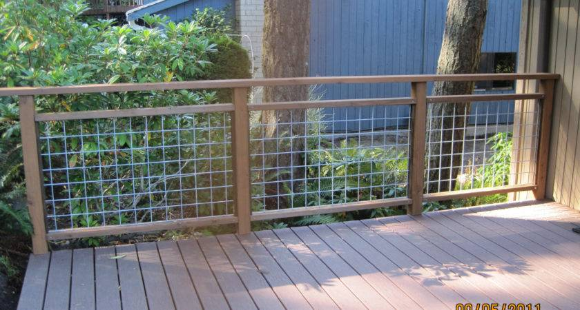 Yourself Deck Railing Done Hamster Dreams
