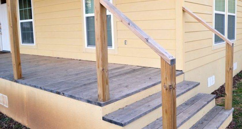 Yourself Exterior Stair Railing Ehow