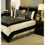 Zebra Bedroom Decor Exotic Gothic Room Interior Fans