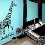 Zebra Bedroom Decoration Ideas Interior Designing