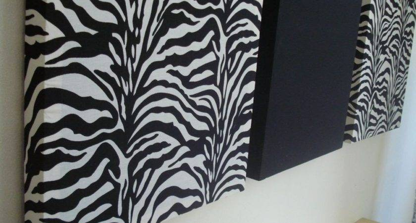 Zebra Print Bathroom Wall Decor Ideas