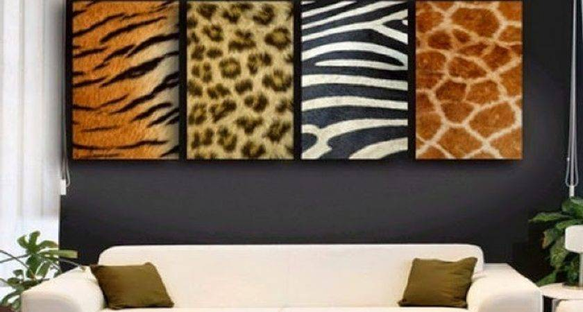 Zebra Room Wall Paint Ideas