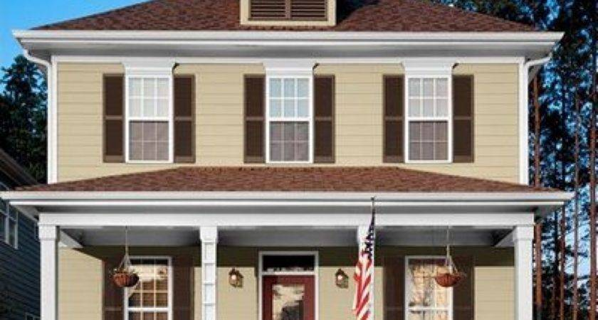 Zspmed Top House Color Light Brown Roof